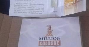 campione omaggio 1 Million Cologne ricevuto da Federica