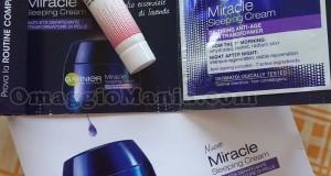 campione omaggio Miracle Cream ricevuto da Vanesita