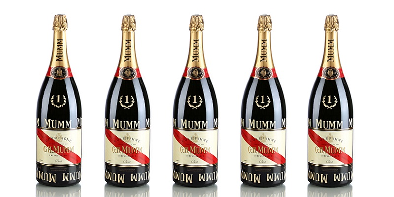 champagne GH.Mumm