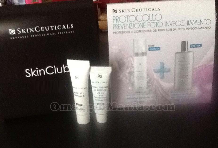 cofanetto cosmetici SkinClub SkinCeuticals