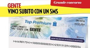 concorso Gente Vinci Subito con un SMS