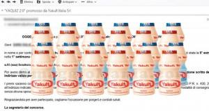 fornitura Yakult gratis