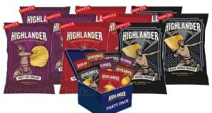 fornitura di patatine Highlander