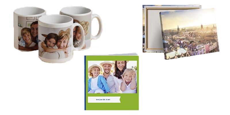 fotolibro, tazza o tela a 3 euro con Photobox