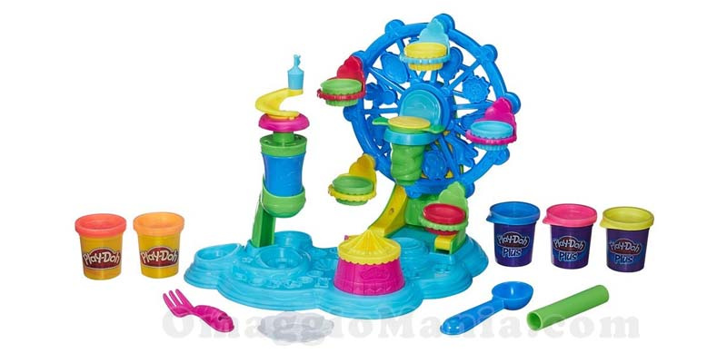 giostra di cupcake Play-Doh