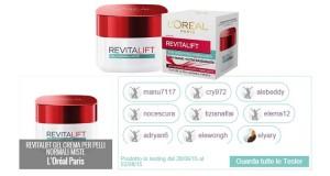 lista tester Revitalift trattamento pelli-normali miste
