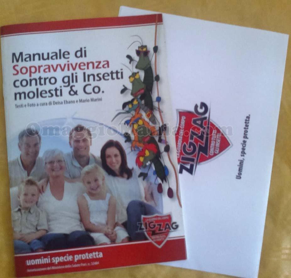 manuale di sopravvivenza contro gli insetti molesti ricevuto da Gaetano