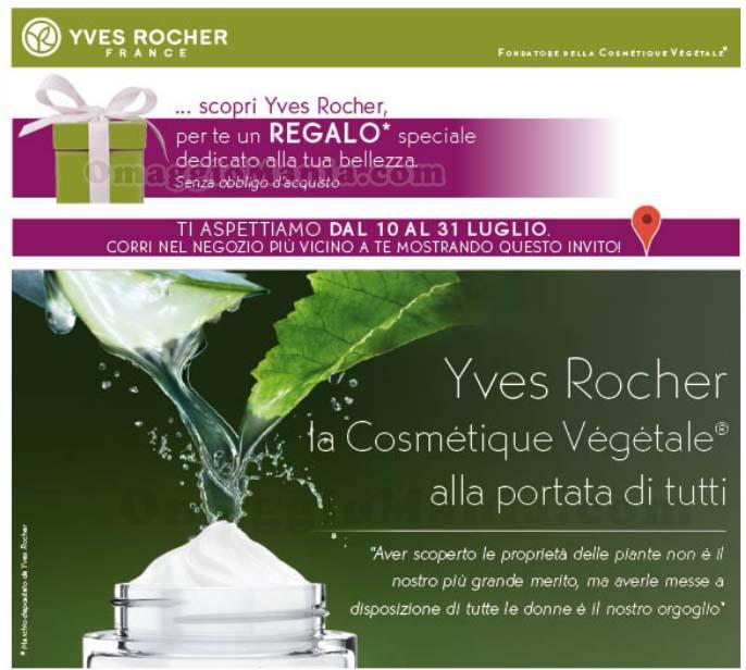 regalo a sorpresa Yves Rocher