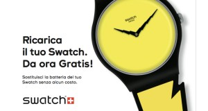 ricarica il tuo Swatch gratis