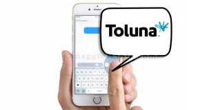 ricevi sondaggi via SMS da Toluna