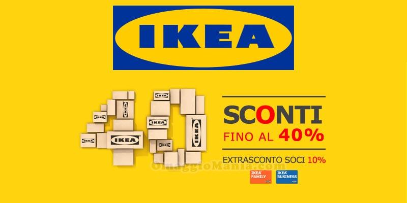 Saldi ikea 2015 sconti fino al 40 omaggiomania for Ikea saldi 2017