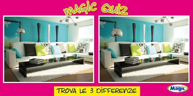 trova le 3 differenze e vinci con Mister Magic
