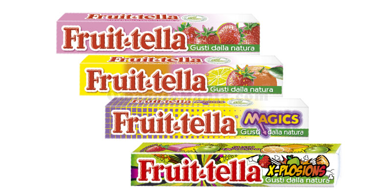 Fruittella omaggio da Cartoshop