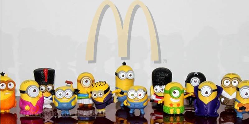 Minions omaggio da McDonald's