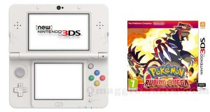 Nintendo New 3DS con gioco Pokemon Rubino Omega