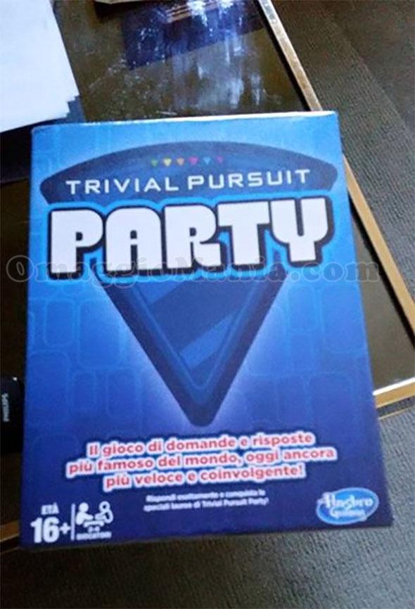 Trivial Pursuit Party vinto con Hasbro