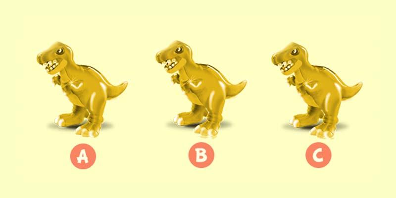 Trova il T-Rex d'oro e vinci