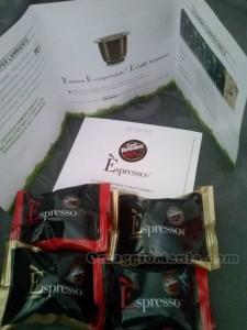 campioni omaggio Caffè Vergnano di Roberta