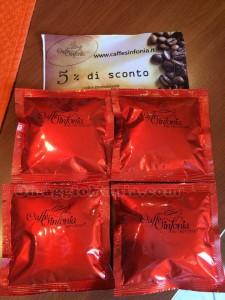 cialde Caffè Sinfonia omaggio di Michela