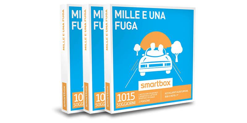 cofanetti Smartbox Mille e una fuga