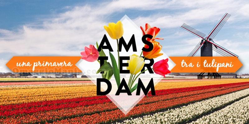 concorso eDreams Amsterdam una primavera tra i tulipani