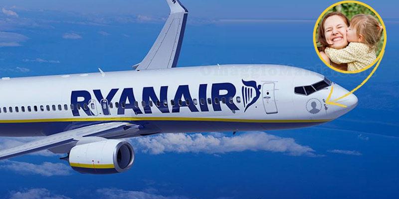 il tuo nome su un aereo Ryanair