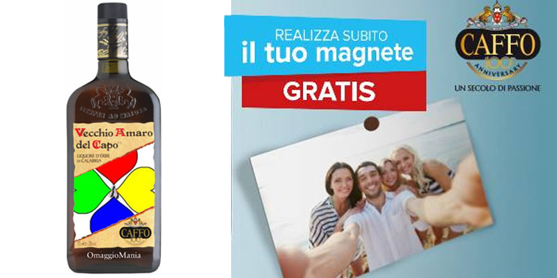 magnete gratis Amaro del Capo