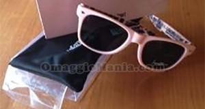 occhiali da sole La Gazzetta dello Sport vinti da Sabrina