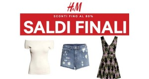 saldi H&M e spese di spedizione gratis