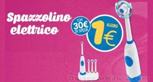 spazzolino elettrico a 1 euro da Eurospin