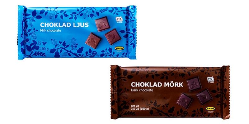 tavoletta di cioccolato omaggio con IKEA