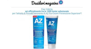 tester dentifricio Az Pro Expert