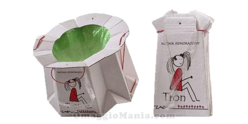 vasini monouso biodegradabili TRON