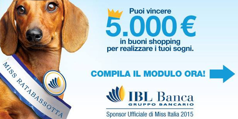 vinci 5000 euro con IBL Banca e il concorso Basso è bello