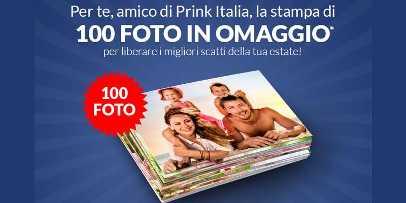 100 foto omaggio da Prink