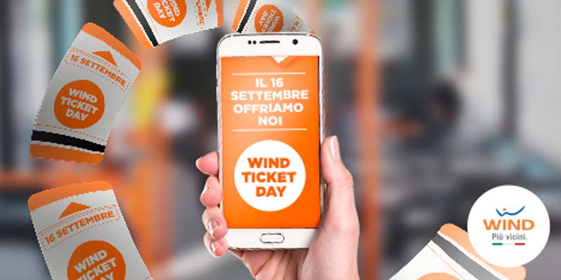 Wind Ticket Day 16 settembre 2015