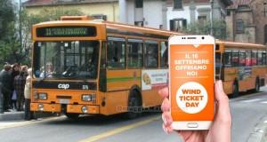 biglietti autobus gratis con Wind Ticket Day