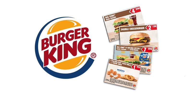 buoni sconto Burger King