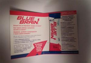 campione omaggio Blue Brain ricevuto da Ilaria
