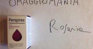 campione omaggio Perspirex di Rosaria