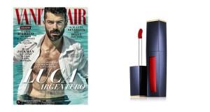 campione omaggio rossetto Estee Lauder con Vanity Fair