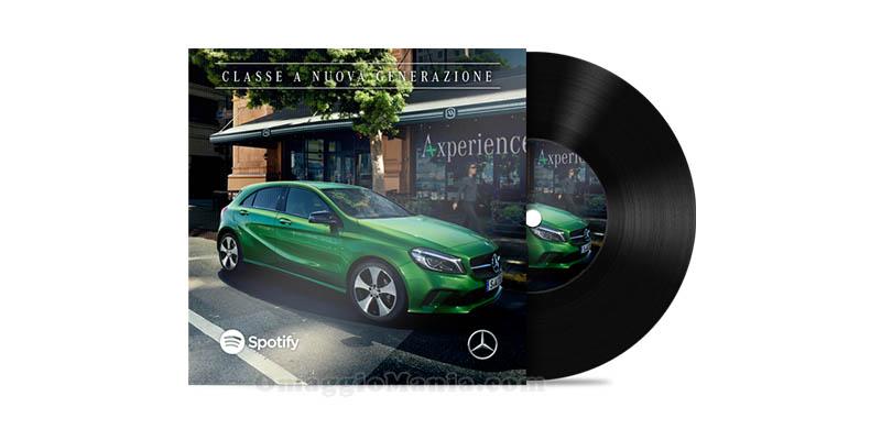 concorso A-xperience Spotify e Mercedes Benz