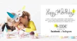 concorso Happy Birthday Smallable