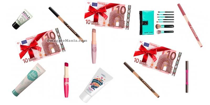 coupon 10 euro Neve Cosmetics a sorpresa