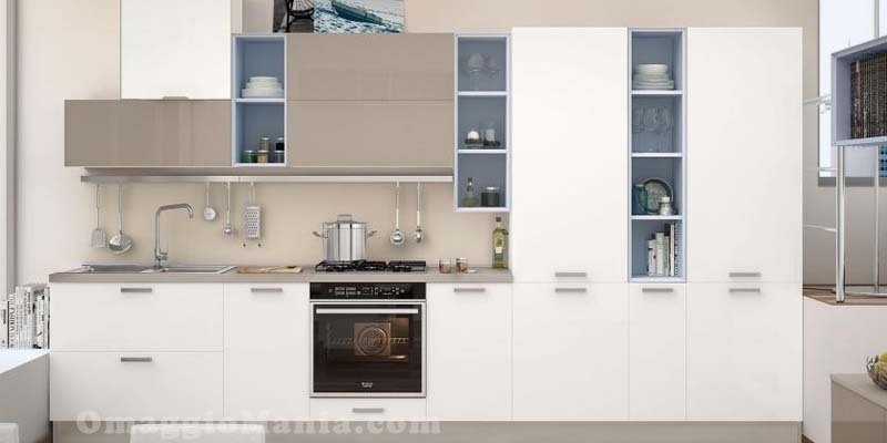 Vinci una cucina Lube con elettrodomestici Hotpoint-Ariston ...