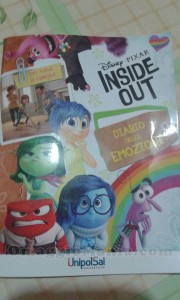 diario Inside Out Disney Pixar di Hanna