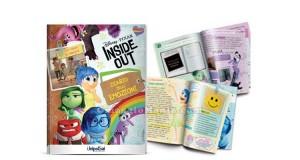 diario delle emozioni Inside Out Disney Pixar
