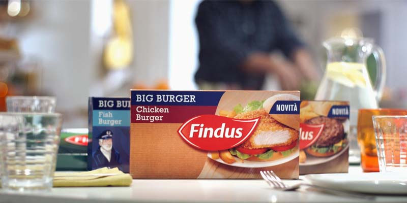 linea Big Burger Findus