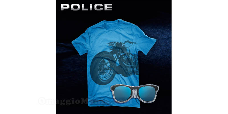 maglietta Police in omaggio