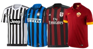 magliette squadre di calcio